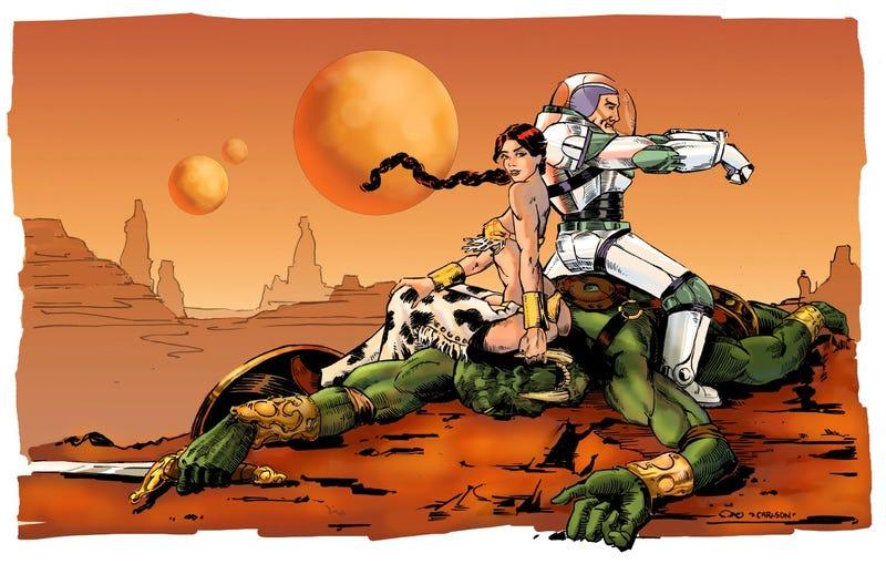 Buzz Lightyear of Mars: Amazing mash-ups of Pixar and Tars Tarkas!