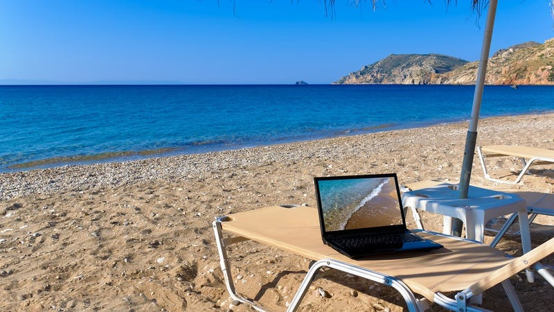 Should You Bring Your Laptop on Vacation?