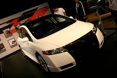 Honda Civic HFP Concept Sits Efficiently On SEMA Show Floor