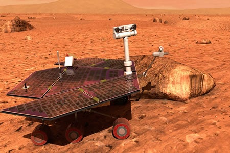 Mars Rover Hit By Cosmic Ray, Gains Amnesia
