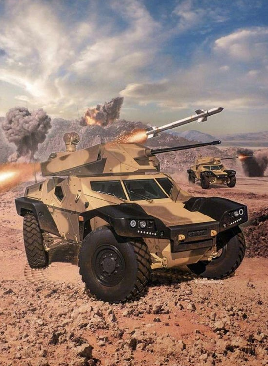 Panhard's Crab May Just Be The Future Of Armored Scout Vehicles