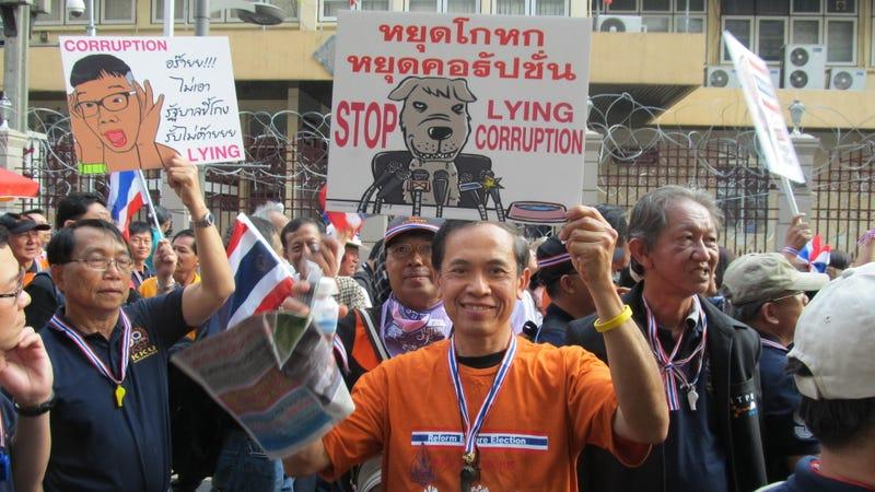 Protests Block Voting in Bangkok