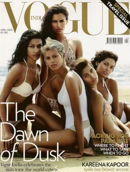 Vogue India Gets Non-Whitewashed Cover; Carolina Herrera In Tiff With Tinsley