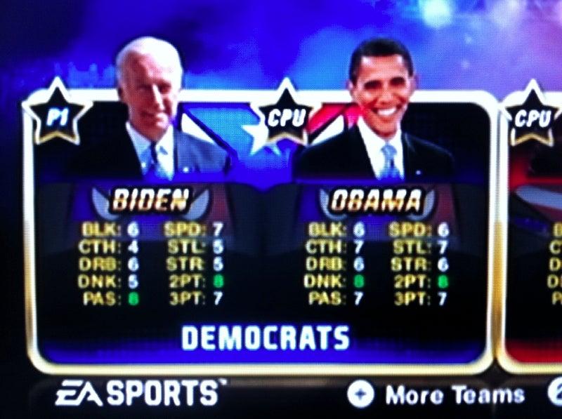 NBA Jam Secret Characters