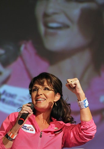 Sarah Palin's Screed Against Reporters