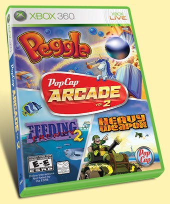 Xbox 360 Catches EXTREME FEVER From Peggle In March
