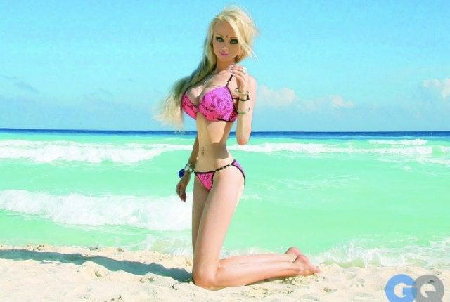 Ukraine's Human Barbie Says Race-Mixing Ruined Beauty Standards