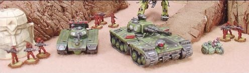 Heavy Gear: Military mechs on a new Earth