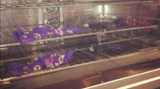 A Subway Sandwich Artist Dried Her Wet Socks in the Bread Oven