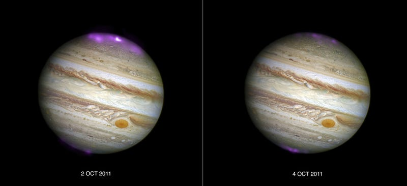 Something Weird and Amazing Is Happening at Jupiter's North Pole