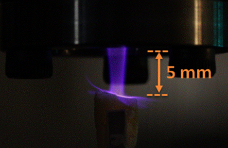 Tiny Plasma Blowtorch Doesn't Let Your Teeth Join the Dark Side