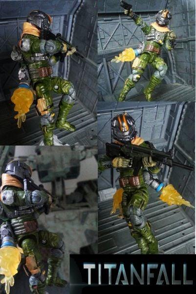 Titanfall Pilot custom action figure