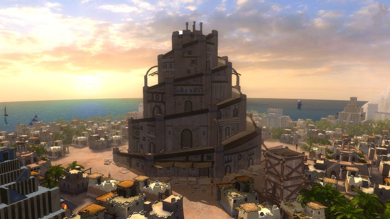 These Babel Rising Screens Show The Original Game of Tower Defense
