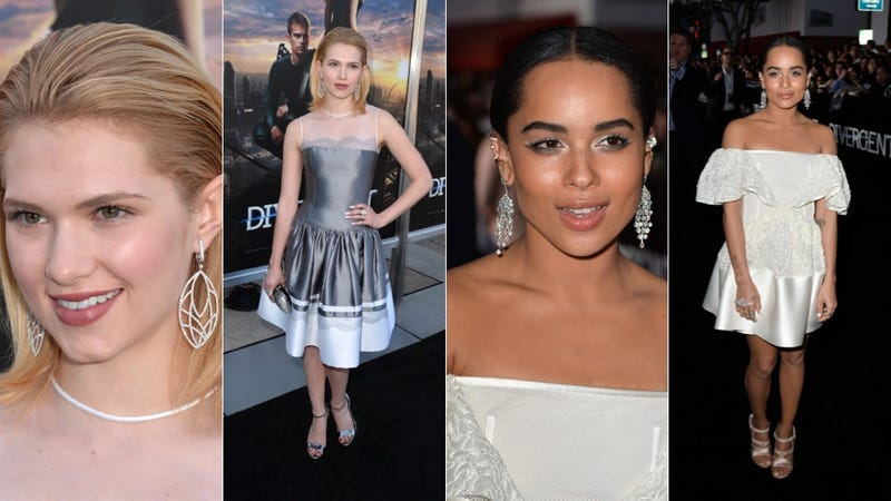 Goddess Gowns and a Whole Lotta Thigh at the Divergent Premiere