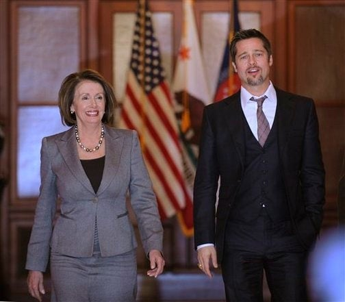 Capitol Goes Cuckoo For Brad & Nancy