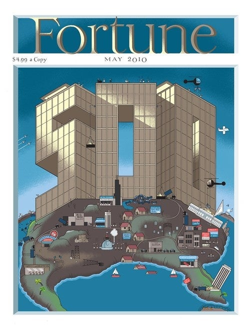 Fortune Magazine Rejects Satirical Chris Ware Cover