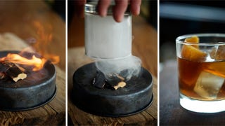 Playing with Fire: This Smoke-Infused Cocktail Has Showmanship and Flavor