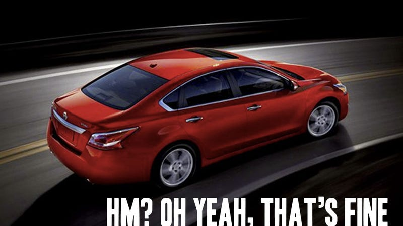 2013 Nissan Altima: Even NASA Seats Can't Make It Cool