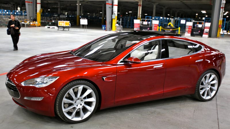 Tesla Delivers One Model S To One Guy
