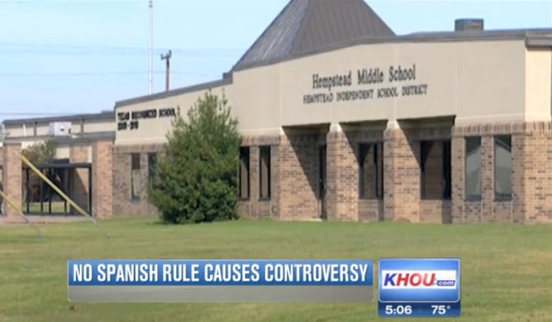 Principal Bans Hispanic Students from Speaking Spanish