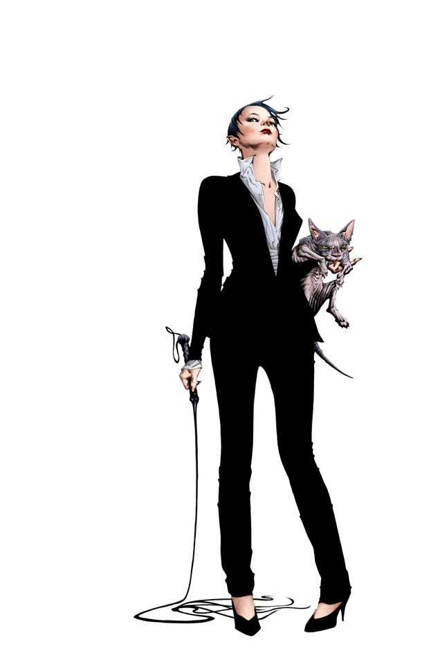 First Details On DC's Klarion The Witch Boy Comic And All-New Catwoman