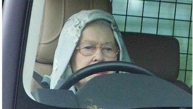 Queen Elizabeth Wears Dope Hoodie While Driving Her Range Rover