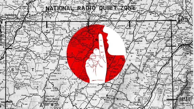 Screw The NSA, Let's All Move To The 'Quiet Zone'