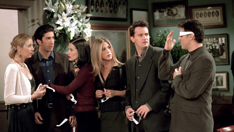 Where Were You When Friends Ended?