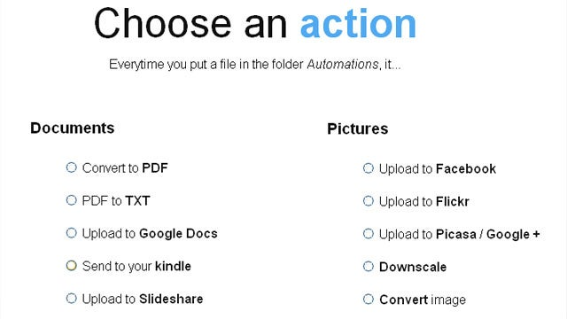 Dropbox Automator Now Sends Images and Docs Automatically to Kindle and Picasa from Your Dropbox Folder
