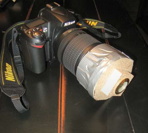 Make a Detachable Fish Eye Lens Adapter on the Cheap