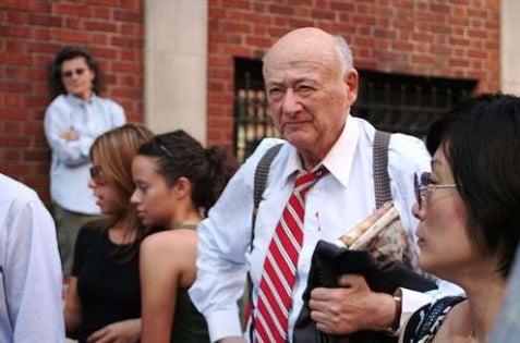 Ed Koch Molested By Rampaging Gay