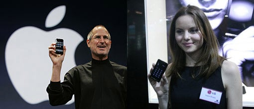 LG Says Apple Copied the Prada Phone. Also, Apple's Mother is Obese