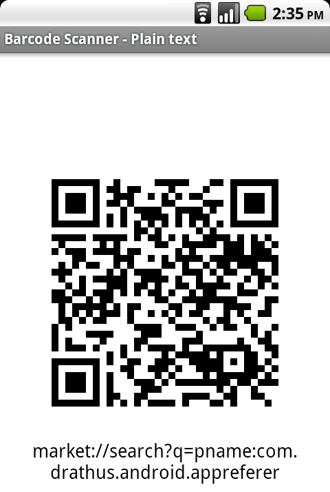 App Referrer Sends App Links to Your Friends via QR Codes
