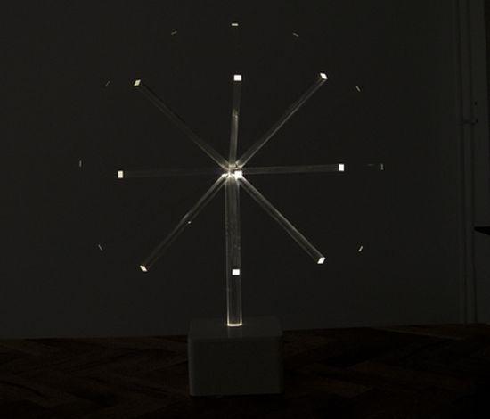 Plexiglass Lamp or Minimalist Disco Ball?