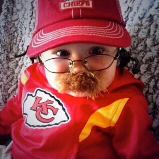 Baby Andy Reid Has The Best Halloween Costume