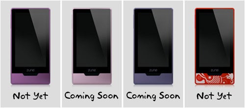 New Zune HD Colors Coming December 1