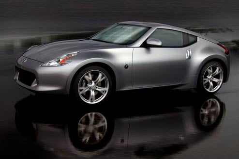 2009 Nissan 370Z Breaks Cover