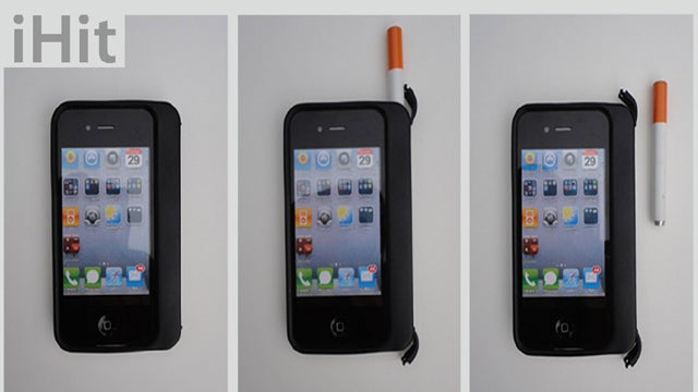 An iPhone Case for Stoners, Smokers, and Scholars