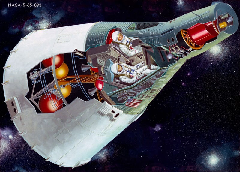 Get lost in these fascinating spacecraft cutaway illustrations