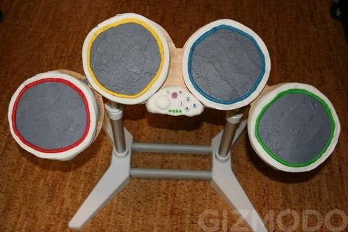 These Rock Band Drums Take the Cake