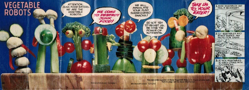 The gentle madness of the 1981 DC Superheroes Super Healthy Cookbook