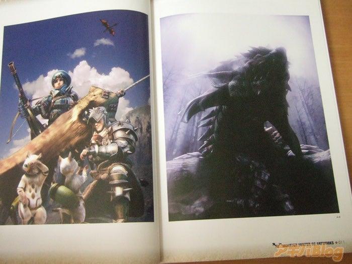 Closer Look At Monster Hunter CG Art Book