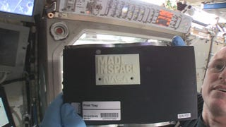 The First 3D Printer in Space 3D-Printed Its First Object