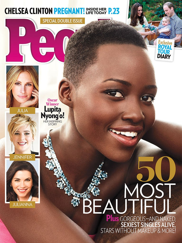 Lupita Nyong'o Tops People Most Beautiful List