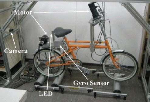 Japanese Scientists Miss The Point, Design Self-Stabilizing Electric Bike