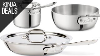 Budding Chefs Take Note: Amazon's Having an All-Clad Sale