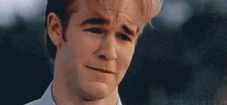 Dawson Leery Says Memetic Waterworks Were Unscripted