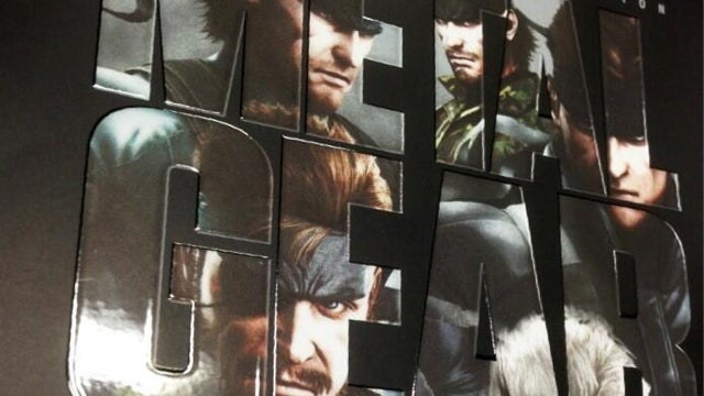 Yet Another Metal Gear Solid Collection Is Coming To PS3