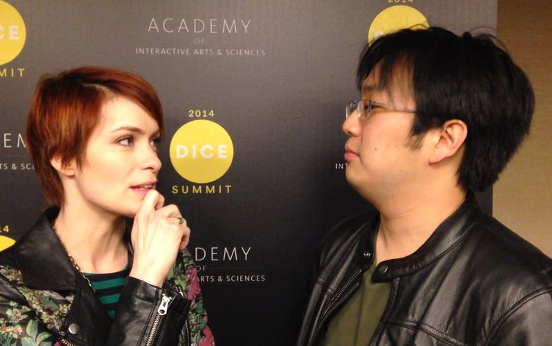 We Convinced Felicia Day And Freddie Wong To Interview Each Other