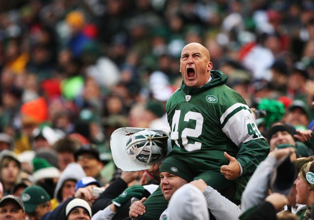 The Jets Took Fireman Ed Out To Lunch And Tried To Woo Him Back